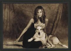 Jim Dratfield captures Jennifer Aniston and her dog