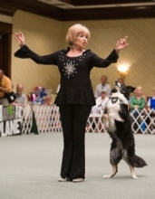 Patie Ventri gets down with her dancing dog!