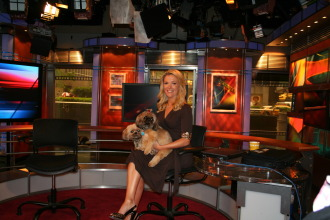 Megyn Kelly with Basha and Bailey