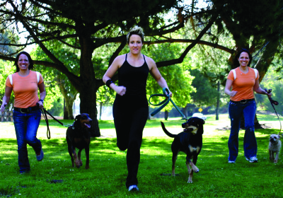 Thank Dog! Bootcamp¨Pets And Their Owners Are Enlisting To Exercise Outdoors