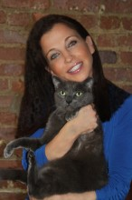 Wendy and her purrfect inspiration Pasha Diamond