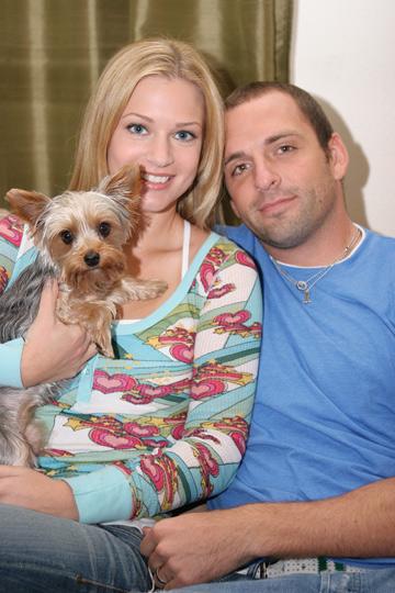 AJ Cook and husband