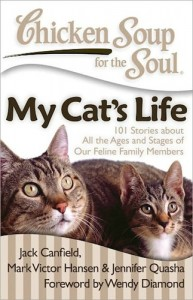 Wendy Diamond's new book Chicken Soup For The Soul - My Cats Life