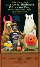 Animalfair.com's 11th annual Howloween pet costume benefit
