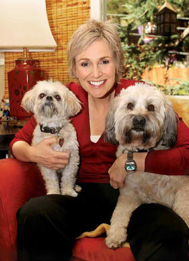 Jane Lynch dog