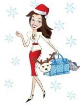 Happy Holidays from Wendy and Lucky!