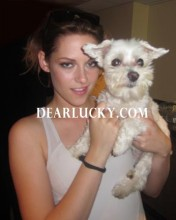 Twilight's Kristen Stewart gets Lucky!