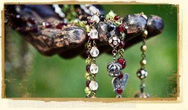 Cancer Survivor Paige Jansen creates Vintage Jewelry you will Puppy Love!