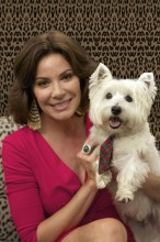LuAnn and her dog aston