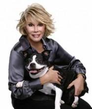 Joan Rivers and her dog Sam