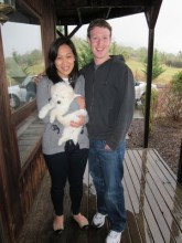 Animal lover Mark Zuckerberg spreads the Facebook puppy love to fund education issues!
