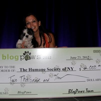 @Blogpaws Thank you For Supporting @HumaneSocietyNY  Adopt A New Furry Family Member!