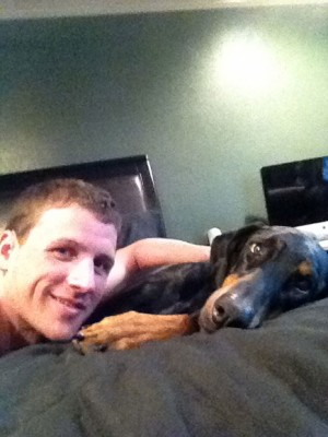 What Does Olympian Ryan Lochte's Doberman Carter Reveal About Him And His New TV Show?