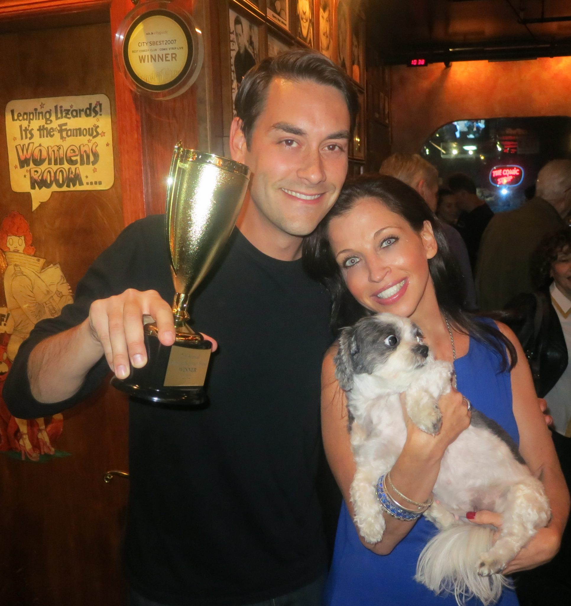 Fox's Clayton Morris Wins 2012 New York's Funniest Reporter Benefiting The Lucky Diamond Critical Care Ward!