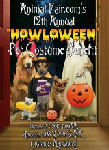 Update on Animal Fair's 12th Annual Howloween Celebrity Pet Costume Benefit!