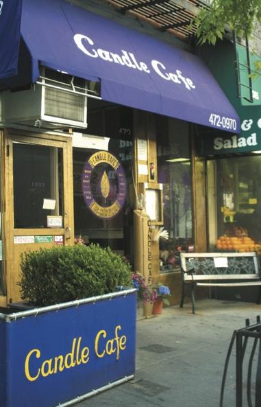 Candle Cafe Upper East Side Menu