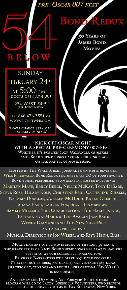 james bond invite - Animal Fair