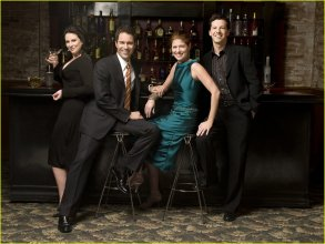 The Will & Grace's cast: Megan Mullally, Eric McCormack, Debra Messing and Sean Hayes.