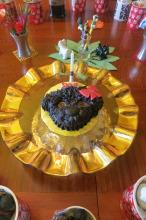 Pupi Dupi's birthday cake.