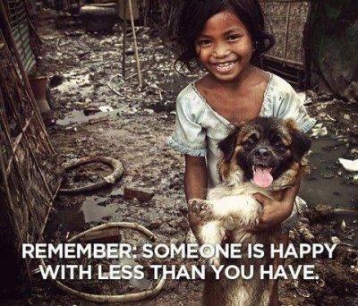 dog homeless girl inspiring