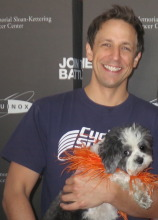seth meyers dog