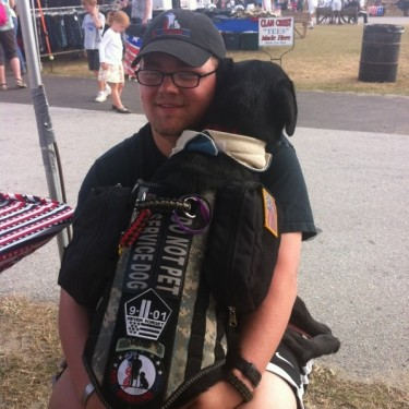 Today! Celebrate A Philadelphia Veteran With PTSD – Help Us Rescue A Service Dog!