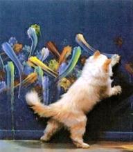 painting-cat
