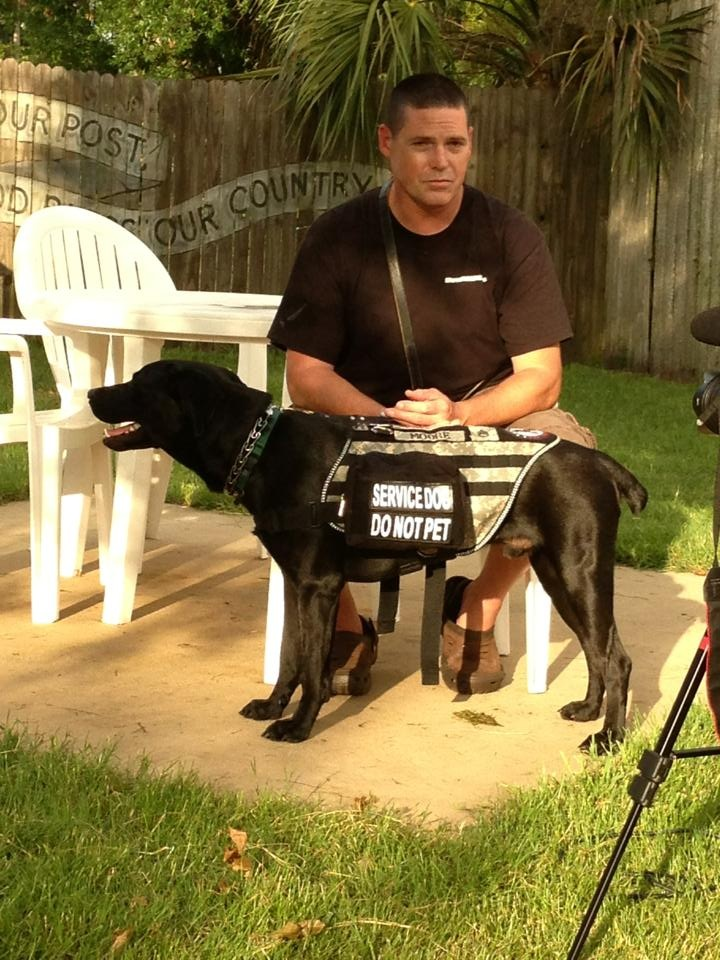 HELP An Atlanta Brave Veteran With PTSD Receive A New Leash On Life! Support @K9sforwarriors !