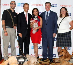 Alex and Skip, John Ingram, Wendy and Baby Hope Diamond, Mayor Karl Dean and Melissa And Chauncey attend the Bark Business Breakfast