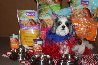 Baby Hope with Halo Pet Food