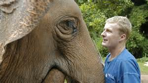John Roberts of the Golden Triangle Asian Elephant Foundation.