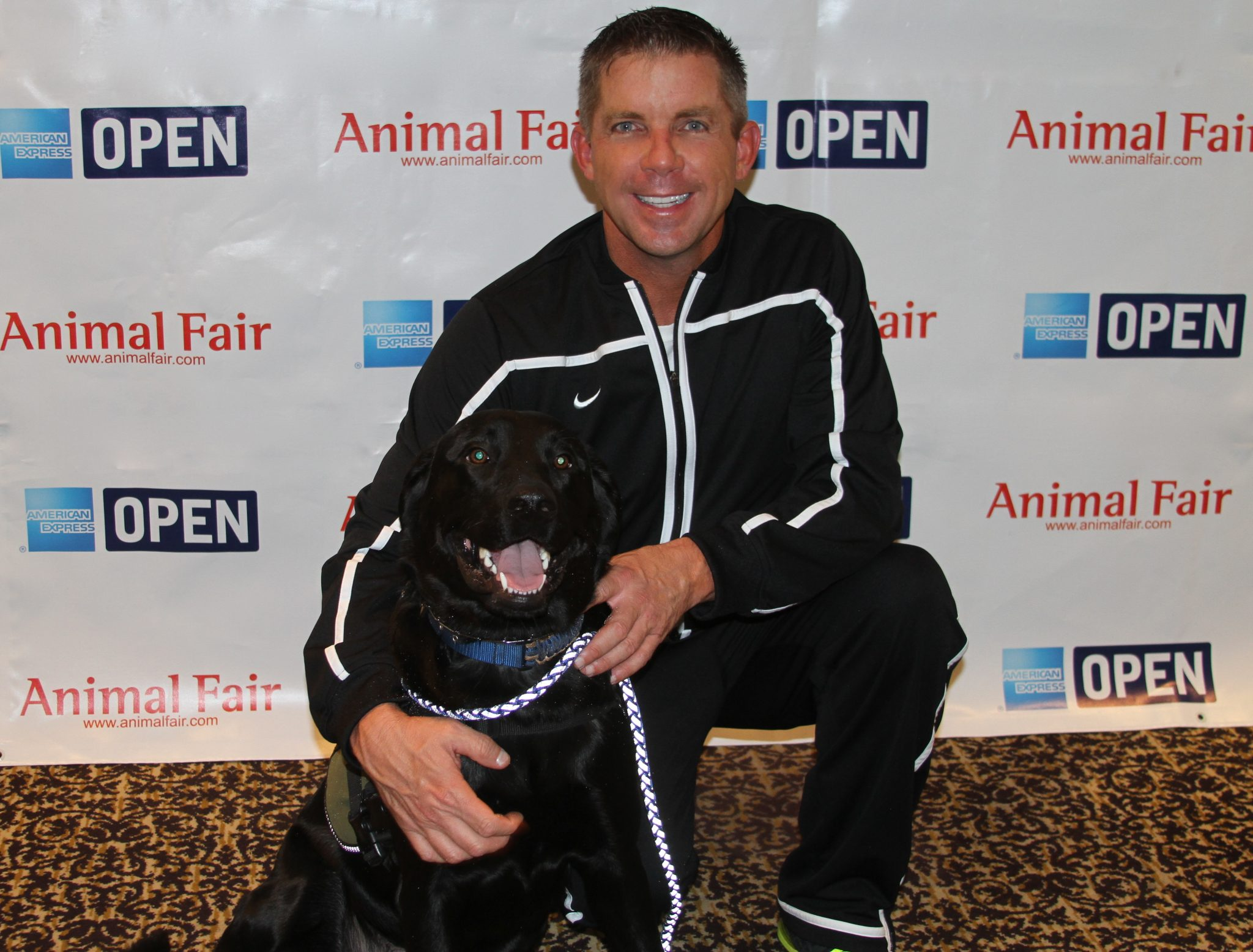 In Honor Of The Superbowl! Thank you @SeanPayton – Big Easy Saints Coach Rolls Over To Support Veterans @K9sFor Warriors!