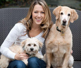 Photo of Colbie Caillat & her Dog