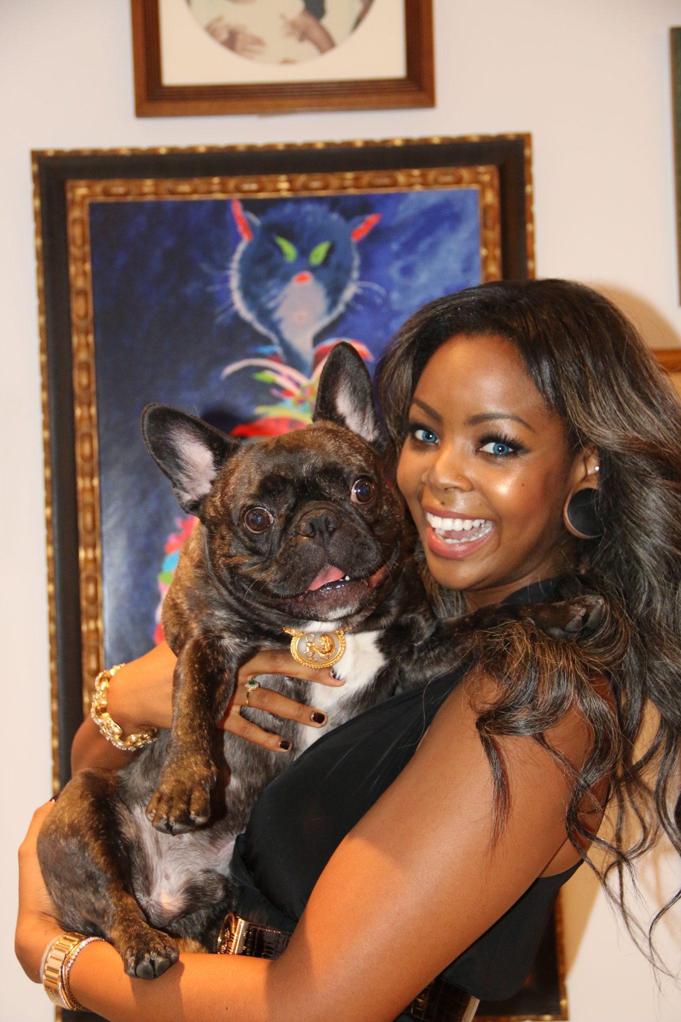 billionaire nigerian heiress and napoleon the boston terrier