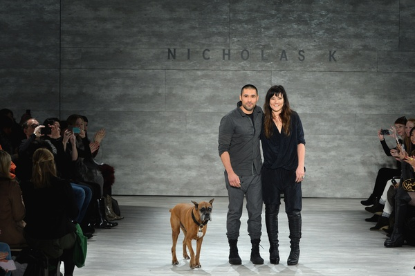 @NicholasKstudio – Fashion Designers Nicholas K(ares) Support Paws For Style 2014!