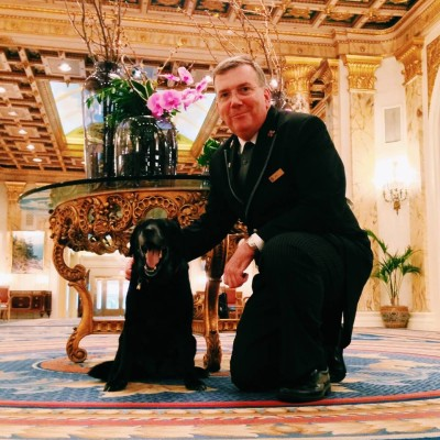 Fairmount Copley's Concierge Joe Fallon will address to every need for the two and four legged!