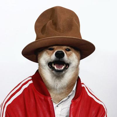 I wanna be just like Pharrell.... I got it! Call me FUR-ell.