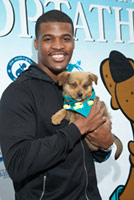 NFL's Brad Smith Loves Fetch As Much As Football!