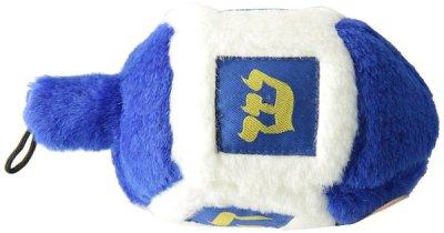 Hanukkah squeaky dog toy