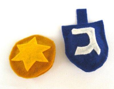 Hanukkah catnip toys