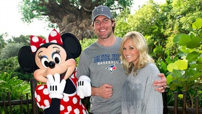 It won't be long before Carrie and Mike take their little one to see Minnie!