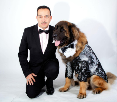 Absolutely NOT a Tuxedo in the dog park! Designs Anthony Rubio