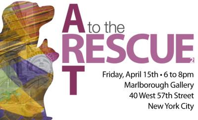 Art to the RescueII_ticket Art