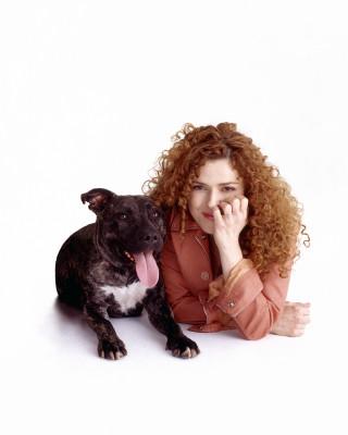 Bernadette with her pooch Stella
