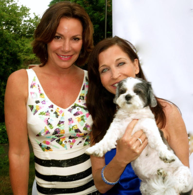Countess LuAnn with Wendy Diamond and Baby Hope